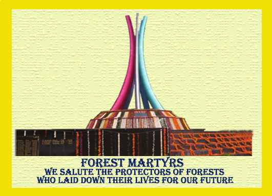 Forest Martyrs Telangana
